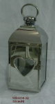 WD2234-32 SILVER - Kovová lucerna